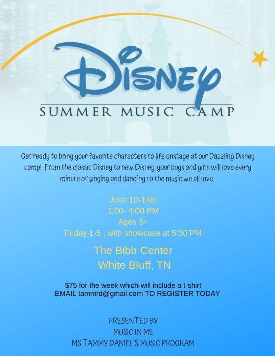 Disney Music Camp